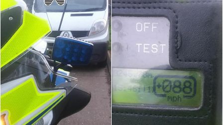The driver was allegedly 28mph over the speed limit for their vehicle Picture: NSRAPT