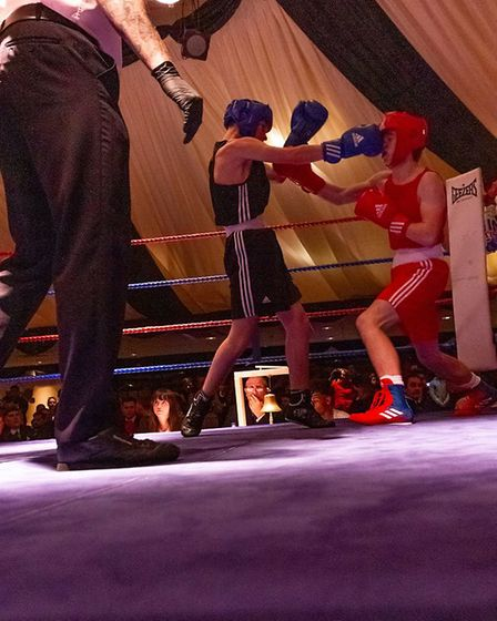 Ipswich boxing club held theri annual showcase in Ipswich in November 2018. Picture: RAINYWOOD PHOTOGRAPHY