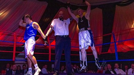 Fighter from Ipswich competed against fighters from across the country. Picture: RAINYWOOD PHOTOGRAPHY