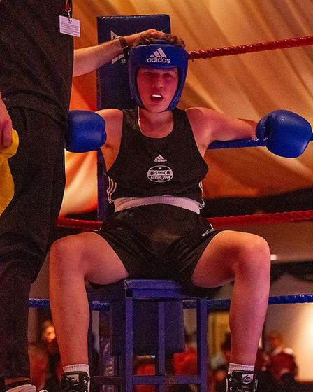 Ipswich Boxing club held its 2018 boxing showcase at the Copdock Hotel in Ipswich. Picture: RAINYWOOD PHOTOGRAPHY