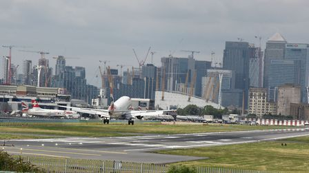 London City Airport.