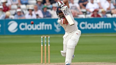 Ravi Bopara in batting action for Essex during Essex CCC vs Somerset CCC, Specsavers County Championship Division 1 Cricket a...