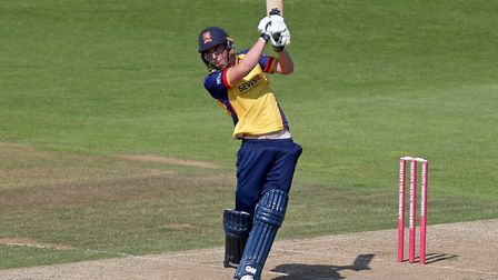 Daniel Lawrence of Essex in batting action during Hampshire vs Essex Eagles, Vitality Blast T20 Cricket at the Ageas Bowl...