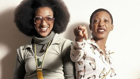Kingston teenagers Althea and Donna had a No.1 with Uptown Top Ranking in 1977. Picture: Fin Costell
