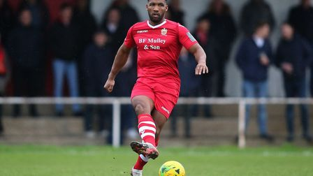 Rickie Hayles of Hornchurch (pic George Phillipou/TGS Photo)