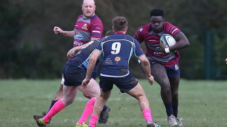 Old Cooperians RFC vs Barking RFC in the London 3 Essex. Picture: Gavin Ellis/TGS Photo