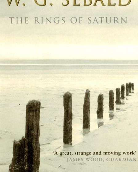 Book cover of The Rings of Saturn by W G Sebald, first published in English in 1998. Photo: Millenni