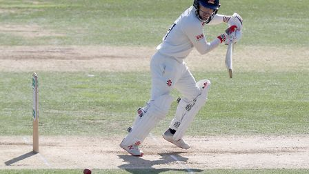 Adam Wheater of Essex in batting action (pic Nick Wood/TGS Photo)