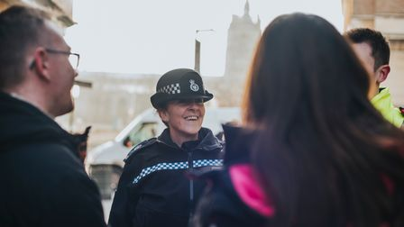 PC on the beat in Norwich.