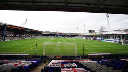A general view inside the ground before the Sky Bet Championship match at Kenilworth Road, Luton.