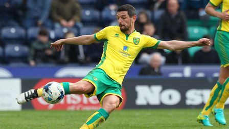 Graham Dorrans has been tipped to be sold by Norwich Cith this summer. Picture: Paul Chesterton/Focu