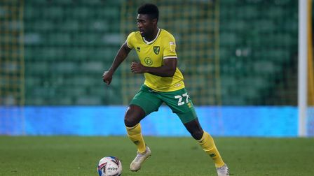 Alexander Tettey of Norwich in action during the Sky Bet Championship match at Carrow Road, Norwich