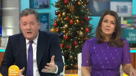 Piers Morgan and Susanna Reid tear apart Laurence Fox's lockdown tweet