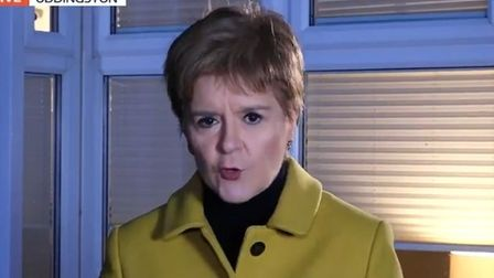 Nicola Sturgeon on Good Morning Britain