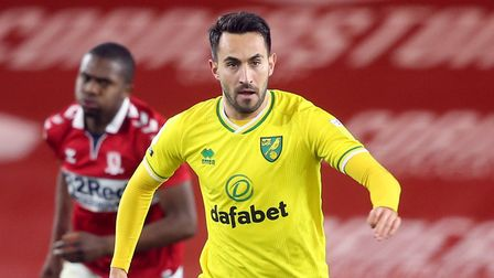 Lukas Rupp returned to Norwich City's starting line-up at Middlesbrough Picture: Paul Chesterton/F
