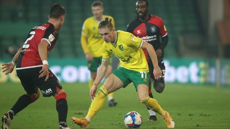 Norwich City wide player Przemyslaw Placheta set for Luton Town bow in Championship tussle