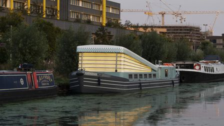 Genesis, the floating church, was designed by Denizen Works and Tony Tucker. Picture: Gilbert McCarragher