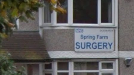 Spring Farm Surgery is to move from this location in Upminster Road North, Rainham. Picture: Google