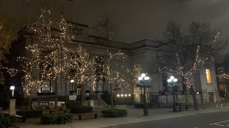 Christmas lights on Islington Town Hall. As the festive season is approaching, wed love to see what decorations youre...