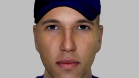 Police have released an e-fit image of a man they want to identify in connection with a robbery of a pregnant woman at a...