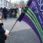 Hackney North members joined parents and schoolchildren, representatives from Hackney NEU, UNISON and UNITE to protest the cu...
