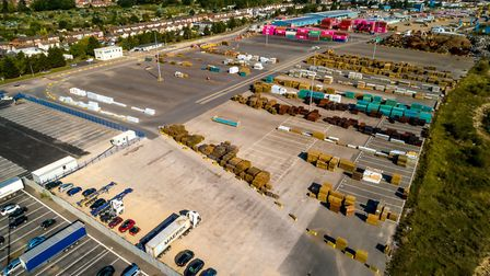 West Bank Terminal at the Port of Ipswich, which is owned by ABP Picture: Stephen Waller/ABP