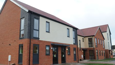 Ipswich council also built attractive new homes in Bader Close six years ago. Picture: SARAH LUCY BROWN