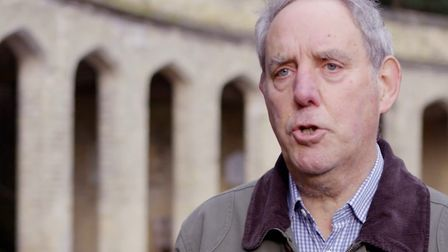 Martin Adeney, chair of the Friends of Highgate Cemetery Trust. Picture: Highgate Cemetery