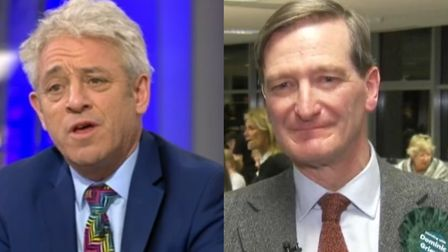 John Bercow seems almost to have reduced Dominic Grieve to tears with his heartfelt tribute on elect