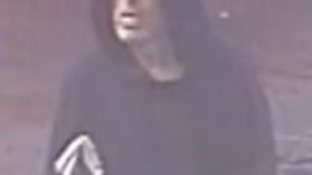 An image of the man police would like to speak to. Picture: Metropolitan Police