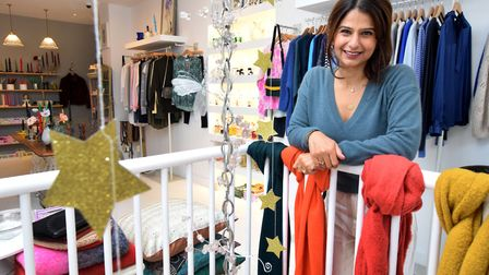 """""""Non-essential"""" shops such as clothes stores are set to reopen. Picture: Polly Hancock"""