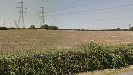 Bellway Homes have submitted a reserved matters application for 190 homes off Old Norwich Road Picture: GOOGLE MAPS