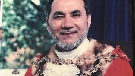 Abdul Karim Sheikh was ceremonial mayor of Newham during the 1998-99 municipal year. Picture: Sheikh family