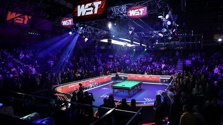 Snooker is set to return to Alexandra Palace (Pic: World Snooker Tour)