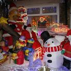 Send us your pictures of Christmas displays. Picture: Sandra Rowse