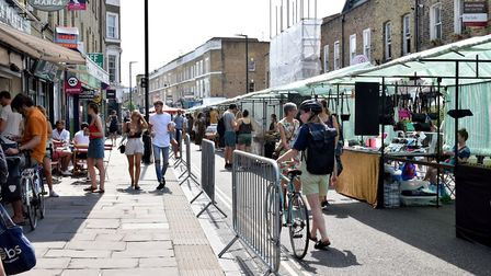 Broadway market. Picture: Polly Hancock