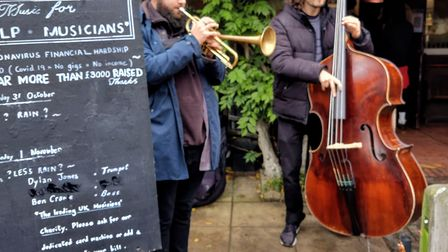 Jazz concerts at Highgate Wood cafe have raised thousands of pounds for the Musicians Benevolent Fund