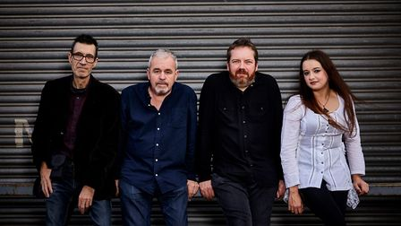 L-R: Marc Parnell, Dave Hemingway, Phil Barton and vocalist Laura Wilcockson. Picture: Jon Shard