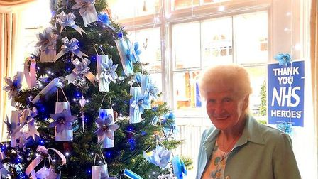 Peggy is a real favourite around the Wanstead community, with this gesture typical of her giving spirit. Picture: Katherine O...