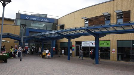 Queen's Hospital, Romford. Picture: Ken Mears