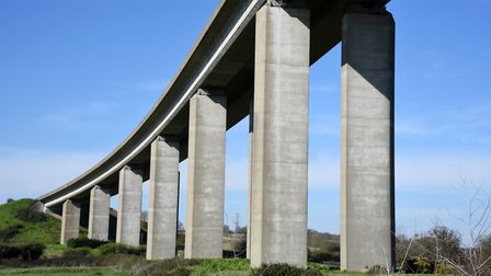 The Orwell Bridge measures are to be discussed in Parliament in December. Picture: CHARLOTTE BOND