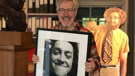 Griff Rhys Jones launches celebrity auction to raise money for East Anglia's Children's Hospices. Picture: NEIL DIDSBURY