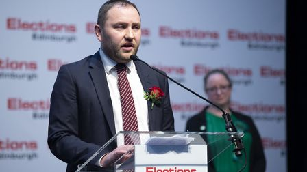 Labour's Ian Murray. Photograph: Lesley Martin/PA Wire.