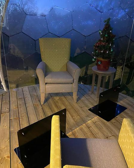 Brierfield Residential Home in Felixstowe has installed an outside social distancing pod, thanks to Skyline Whitespace, so...