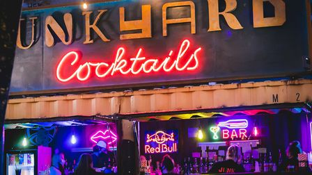 Junkyard Market will host a number of street food stalls in Ipswich next week, which include cocktails. Picture: Junior @DN.I...
