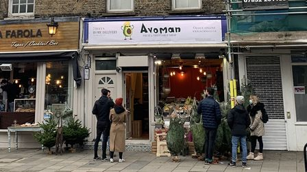 Avoman in Upper Street. Picture: André Langlois