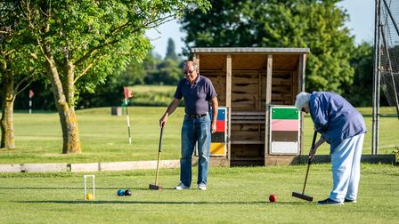 The Ipswich Croquet Club is looking for a new home. Pictures: IPSWICH CROQUET CLUB