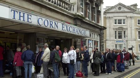 Long queues formed outside the Corn Exchange when Flog It! came to visit. Picture: ARCHANT LIBRARY
