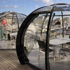Isaacs on the Quay in Ipswich has brought back its 'igloos' where household bubbles of up to six can dine with views over the...
