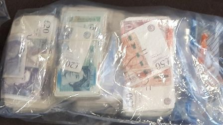 £25,000 and £2,500 in cash was found on two separate occasions in Nicholas Leighton's home. Picture: Met Police